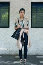 leather jabong bag