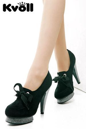 black Kvoll shoes - silver - gray - brown