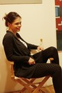 Black-newyorker-leggings-gray-vero-moda-cardigan-ivory-stradivarius-shirt