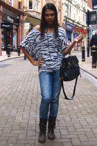 H&M blouse - Primark boots - next
