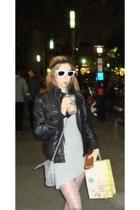 I am accessories - BLANCO jacket - Bershka dress - Fosco scarf - Calzedonia stoc