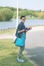 Teal-prada-bag