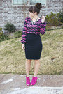 Hot-pink-shoedazzle-boots-navy-forever-21-coat