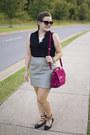 Magenta-messenger-barbara-bui-bag-heather-gray-leather-asos-skirt