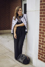 White-tweed-moto-milly-jacket-black-rocco-rose-gold-alexander-wang-bag