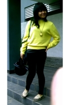 united colors of benetton sweater - accessories - DSquared pants - sanuk shoes