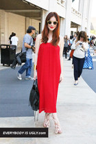 Street Style Snaps from the Nanette Lepore Spring/Summer 2013 Show