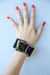 Black-cuff-buckle-vintage-bracelet