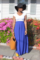 maxi self-made skirt - shopper Zara bag