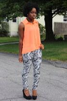 tribal print H&M pants