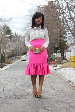 self-made skirt