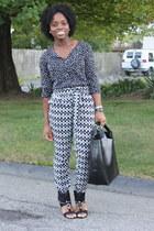 cuff Bakers shoes - shopper Zara bag