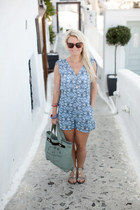 H&M romper - Jacobs by Marc Jacobs bag - Marc Jacobs sunglasses