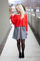 BB Dakota dress - H&M sweater