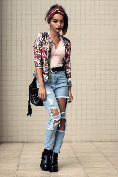 Sheinside jacket - Sheinside pants