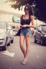 Jeans-chicwish-shorts-schutz-heels-alana-ruas-accessories