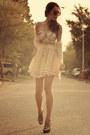 Ivory-chicwish-skirt-heather-gray-tvz-heels