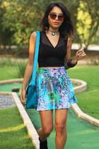 light blue Butic Bardot skirt
