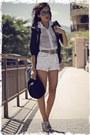 Felicee-blazer-brech-bag-ray-ban-sunglasses-schutz-heels