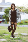 Mart-of-china-cardigan-blackfive-wedges