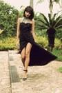 Schutz-sandals-black-virgos-lounge-dress