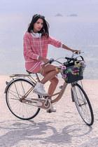 bubble gum Tune Tune blouse - bubble gum Tune Tune skirt