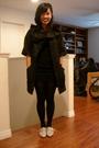 Black-twelve-by-twelve-jacket-black-lux-dress-black-tights-beige-aldo-shoe