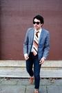 Gray-h-m-blazer-beige-h-m-shirt-beige-lanvin-tie-blue-levis-jeans