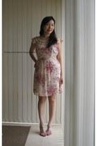 pink Anise dress - salmon Vincci heels