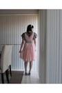 Light-pink-alannah-hill-dress-white-charles-keith-heels-beige-sportsgirl-b
