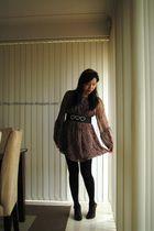 sass dress - Alannah Hill belt - Vincci shoes - Ribboned headband accessories