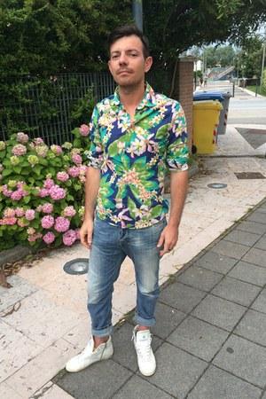 Daniele alessandrini Homme shirt - carrot Diesel jeans