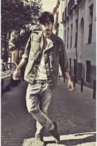 Zara jeans - Topman jacket - H&M t-shirt