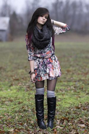 floral romwe dress