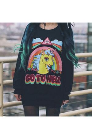 unicorn Choies jumper