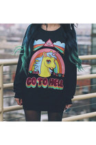 unicorn Choies jumper