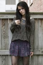 plaid Zara shorts