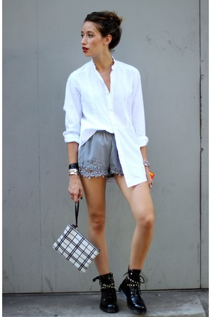 essentiel shirt - Zara shorts