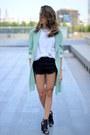 Primark-shorts-zara-heels