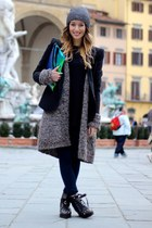 asos jacket - Patrizia Pepe sweater