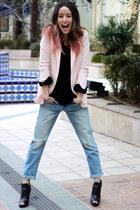 Forever 21 blazer - Levis jeans