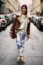 Oakwood-coat-zara-jeans-zara-sneakers