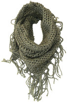 crocheted ALEXANDRA TODD scarf