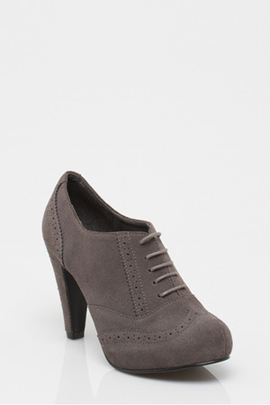 heather gray le chateau shoes