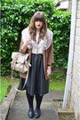 Light-brown-topshop-coat-beige-acne-shirt