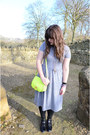 Black-asos-boots-heather-gray-midi-topshop-dress-yellow-aldo-bag
