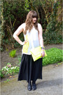 Yellow-neon-asoscom-bag-off-white-h-m-blouse-black-topshop-skirt