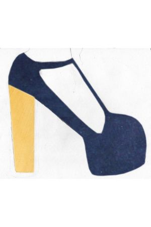 blue Jeffrey Campbell shoes
