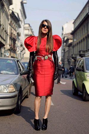 dress - belt - boots - purse