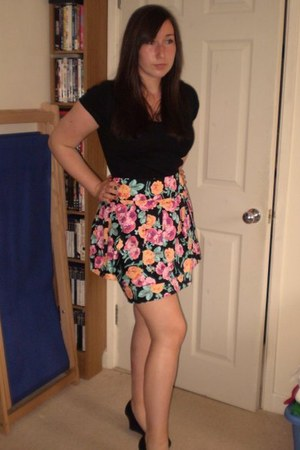 Newlook skirt - black Newlook top